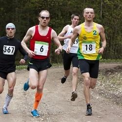 SEB 31. Tartu Jooksumaraton - Margus Pirksaar (6), Sander Hannus (18), Urmas Peiker (367)