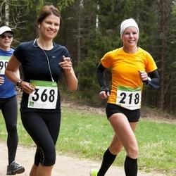 SEB 31. Tartu Jooksumaraton - Maie Kuusik (218), Armi Tähema (368)