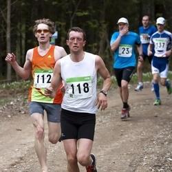 SEB 31. Tartu Jooksumaraton - Gunnar Kingo (112), Ago Saluveer (118)