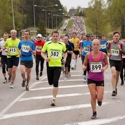 SEB 31. Tartu Jooksumaraton - Anatoly Smirnov (345), Mart Luik (415), Indrek Reitkam (582), Silvia Tenisson (899), Kaspar Loog (1135), Silver Tamm (2278)