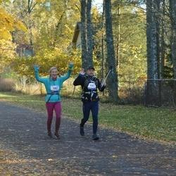 Eesti Maastiku Maraton - Tiina Hirv (182), Rudolf Palk (183)