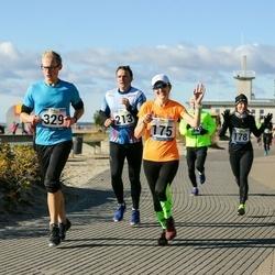 Pärnu Rannajooks - Anu Veermets (175), Kaimo Maiste (213), Madis Mihklepp (329)
