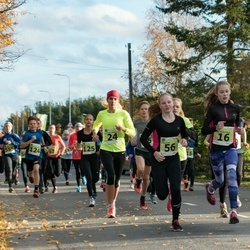 44. Saaremaa kolme päeva noorte jooks - Anna Maria Raspel (16), Liis Grete Atonen (24), Eliise Luks (56)