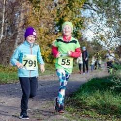 44. Saaremaa kolme päeva noorte jooks - Berta Kurvits (55), Mia Lopsik (799)