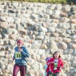 44. Saaremaa kolme päeva noorte jooks - Vanessa Zvonkova (70), Anna Malena Kuris (131)