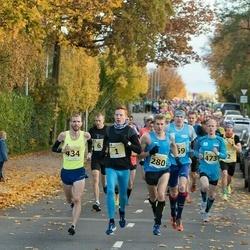 44. Saaremaa kolme päeva jooks - Andi Noot (1), Raido Mitt (280), Ilja Nikolajev (434), Marti Medar (473)