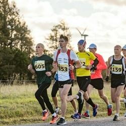 44. Saaremaa kolme päeva jooks - Ago Veilberg (159), Peeter Pihl (353), Ludovic Hombourger (605)