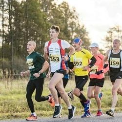 44. Saaremaa kolme päeva jooks - Ago Veilberg (159), Peeter Pihl (353), Lauri Luik (592), Ludovic Hombourger (605)