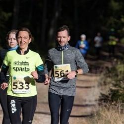 44. Saaremaa kolme päeva jooks - Annely Saar (533), Ander Avila (561)