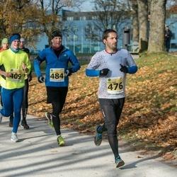 44. Saaremaa kolme päeva jooks - Aap Allmägi (409), Janis Ligats (476), Rauno Leskov (484)