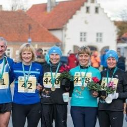 44. Saaremaa kolme päeva jooks - Viktor Lavrikov (41), Elena Antoshkina (42), Olga Antonova (446), Anastasia Zakharova (447), Valentina Chernousova (448)