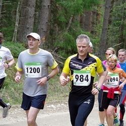 SEB 31. Tartu Jooksumaraton - Ain Inno (984), Ülle Haav (1094), Tiit Ootsing (1200), Harro Rannamets (2277)