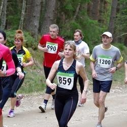 SEB 31. Tartu Jooksumaraton - Siiri Pilt (859), Ain Inno (984), Tarmo Rosenberg (990), Tiit Ootsing (1200), Reet Kinks (1252)