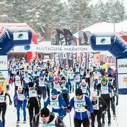20. Alutaguse Maraton - Anti Looskari (121), Aare Pilvet (126), Andres Leosk (140), Adrian Blake (141)
