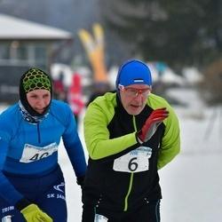 9. Mulgi Uisumaraton - Aare Heinla (6), Sirje Nurgamaa (40)