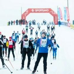 45. Tartu Maratoni Avatud Rada - Ever Kolli (293), Virko Säbel (317)