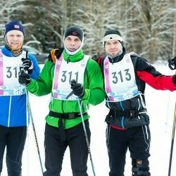 45. Tartu Maratoni Avatud Rada - Meelis Mulla (311), Hardi Kuimets (313), Rasmus Käo (315)