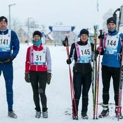 45. Tartu Maratoni Avatud Rada - Liina Krünvald (31), Kalle Tammjärv (141), Sander Mirme (144), Eleri Hirv (145)