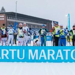 45. Tartu Maratoni Avatud Rada - Markko Abel (1), Sergey Apatenkov (2), Lars-Erik Hion (17), Ants Mailend (19), Allan Kiviselg (25), Liina Krünvald (31)