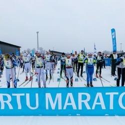 45. Tartu Maratoni Avatud Rada - Markko Abel (1), Sergey Apatenkov (2), Davis Brammanis (3), Jean Bristow (4), Aigars Bundzinieks (7), Teet Enok (9)