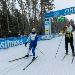 45. Tartu Maratoni Avatud Rada - Eero Leppänen (36), Alexander Malin (41)