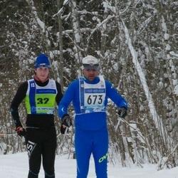 45. Tartu Maraton - Matthias Kalev (32), Boris Sokolov (673)