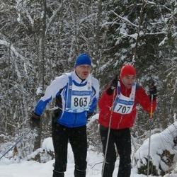 45. Tartu Maraton - Kalev Tark (707), Arno Pärna (803)
