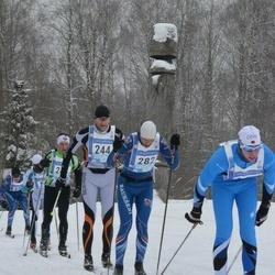 45. Tartu Maraton - Priit Grünberg (244), Agris Krievans (282)