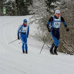 45. Tartu Maraton - Marek Tõnismäe (384), Artem Derkunskiy (1448)