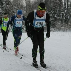 45. Tartu Maraton - Alar Alumaa (381), Daniel Koosma (508)