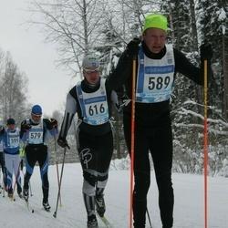 45. Tartu Maraton - Jarkko Hakanen (589), Aivo Priks (616)