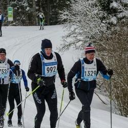 45. Tartu Maraton - Agris Peedu (992), Arvi Schilf (1329)