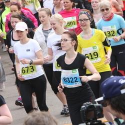 SEB 26. Maijooks - Epp Leibur (432), Kristi Leibur (619), Annika Laas (6322)