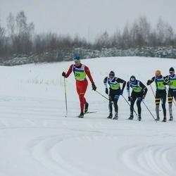 45. Tartu Maraton - Bastien Poirrier (1), Loic Guigonnet (5), Benoit Chauvet (7), Antoine Auger (20), Vahur Teppan (22)