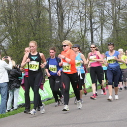 SEB 26. Maijooks - Agnes Leemet (322), Laura Romanova (852), Stella Kivi (905), Meelika Tammeveski (977)