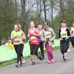 SEB 26. Maijooks - Annika Saaring (328), Hannele Tilk (329), Gerli Vahtriku (4320), Johanna Kaupmees (4321)