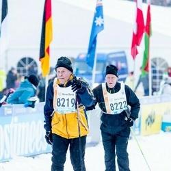 45. Tartu Maraton - Ari Myllymäki (8219), Pekka Pennanen (8222)