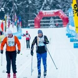 45. Tartu Maraton - Ville Vulkan (8329), Amilda Maran (8744)