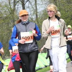 SEB 26. Maijooks - Silja Rinderberg (4286), Anneli Vellerind (5093)