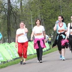 SEB 26. Maijooks - Kristiina Beljajev (3618), Aasa Pappel (3956), Raili Raidma (3957), Katrin Mand (4139)