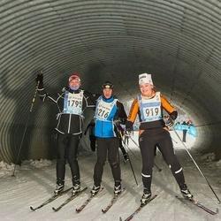 45. Tartu Maraton - Diana Dukan (919), Eiko Nõgols (1216), Indrek Lindsaar (1795)