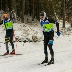 45. Tartu Maraton - Loic Guigonnet (5), Benoit Chauvet (7)