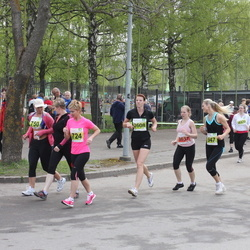SEB 26. Maijooks - Eve Hütt (724), Katrin Sõlg (750), Karen Kotlov (2608), Anneli Uus (3637), Kati Grossmann (14001)