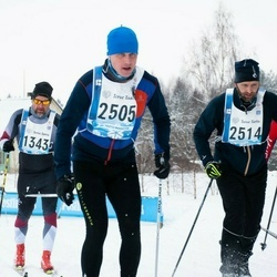 45. Tartu Maraton - Raigo Paas (1343), Tõnis Eilat (2505), Artis Ivanovs (2514)