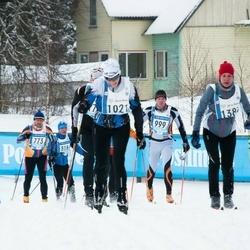 45. Tartu Maraton - Tõnis Kristal (773), Aivo Pere (816), Arno Õruste (999), Raidi Tammeveski (1021)