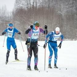 45. Tartu Maraton - Agris Krievans (282), Tiit Arus (298), Ardo Virkebau (348)