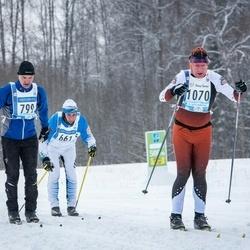 45. Tartu Maraton - Aare Pilvet (799), Valmar Simson (1070)