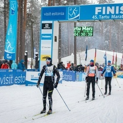 45. Tartu Maraton - Karl Oissar (808), Meelis Udras (1200), Arkadiy Gayfullin (2291)