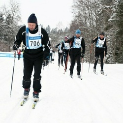 45. Tartu Maraton - Enrico Salk (706), Ahti Nuga (1995), Andras Kaasik (2309)