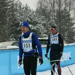 45. Tartu Maraton - Ago Teder (483), Fredrik Alderman (933)